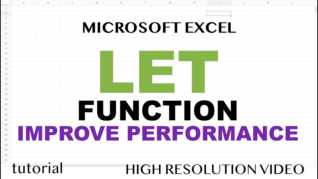 How to Use LET Function in Microsoft Excel