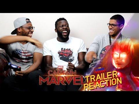 Captain Marvel Special Look Trailer Reaction