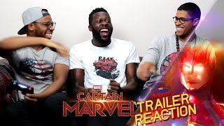 Captain Marvel Special Look Trailer Reaction