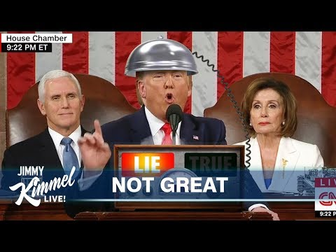 Jimmy Kimmel on Trump's SOTU & Iowa Caucus