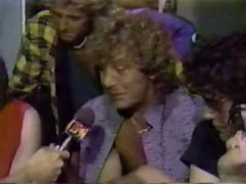 Page/Plant/John Paul Jones-(1985-Rare Interview with Alan Hunter)