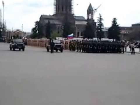 Парад 9 мая-2014 10:00 в Гюмри