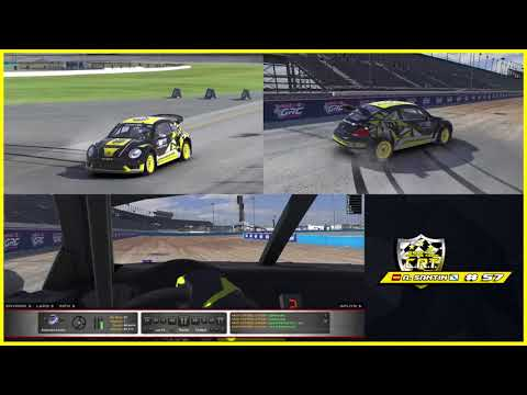 iRacing | RallyCross HOTLAP | Daytona Long 42:957 | Multicam