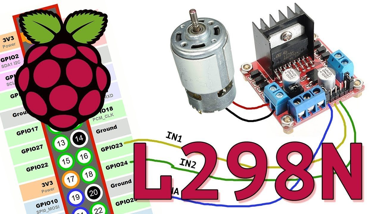 Raspberry Pi How to Control a DC Motor With an L298N Driver on