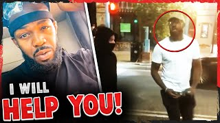 Jon Jones reveals he's protecting his city from vandals + FOOTAGE of him RIPPING guy with spray can