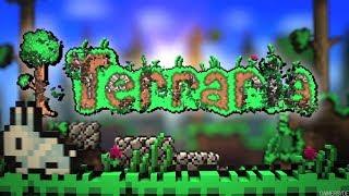 Terraria прохождение с кучей модов  1 часть с вебкой XD