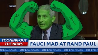 Dr. Anthony Fauci hulks out on Rand Paul