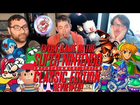 SNES Classic Edition - All 21 Games Reviewed