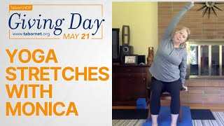 Yoga Stretches with Monica | Tabor/LHOP Giving Day!