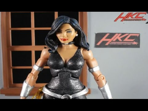 Custom DONNA TROY black outfit DC Universe Classics action figure review by HKC