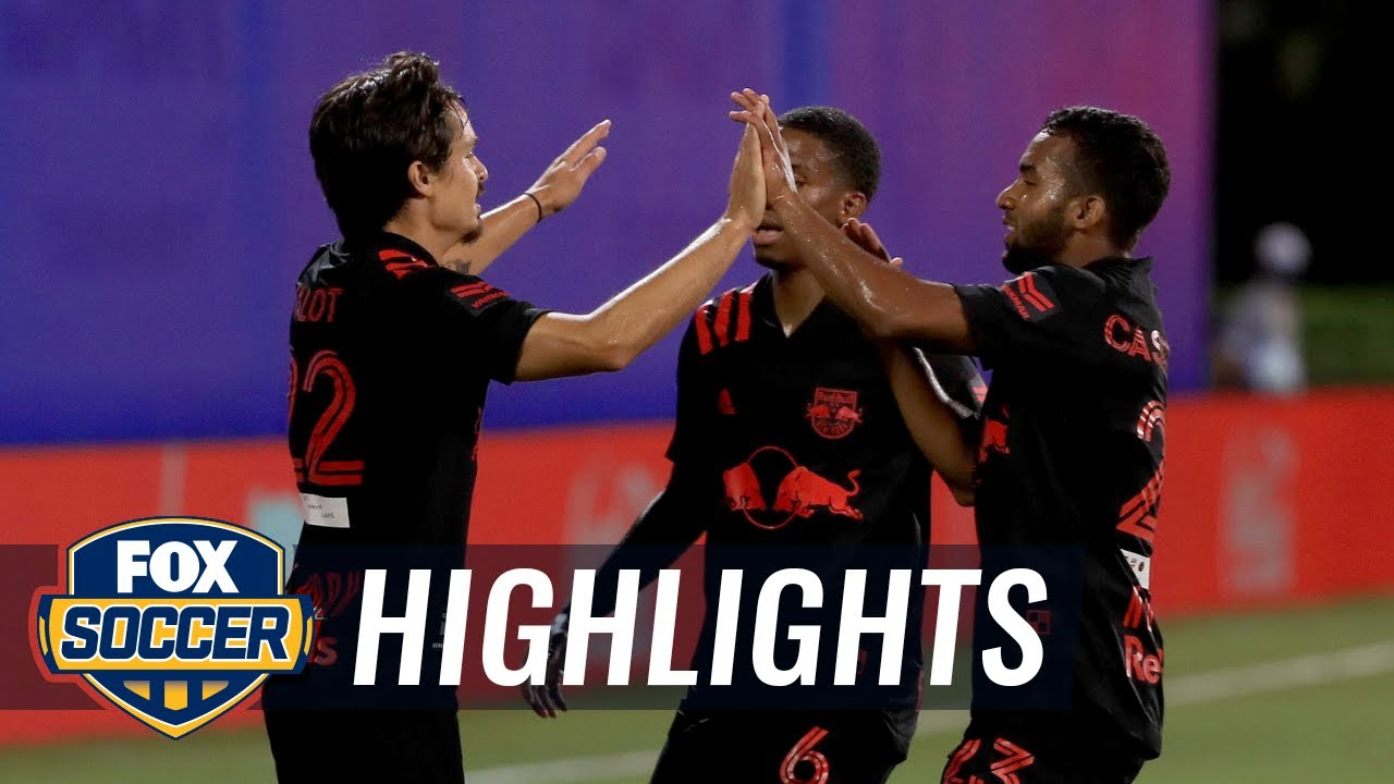 NY Red Bulls early strike enough to survive late push from Atlanta United FC | 2020 MLS Highlights