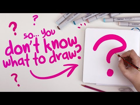 how-to-draw-something-(when-you-can't-think-of-anything)-|-the-process-of-finding-ideas