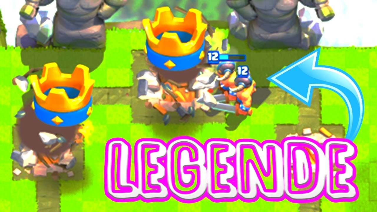 Clash royale top 3 meilleur deck legende janvier 2017 for Clash royale meilleur deck arene 7