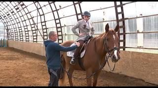 Уроки верховой езды вместе с корреспондентом телеканала СТВ