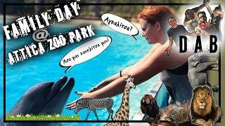 Στο Αττικό Ζωολογικό πάρκο από.... την πίσω πόρτα! 🙈 | Sissy Christidou
