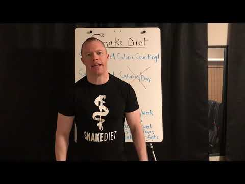 Snake Diet CALORIE COUNTING!