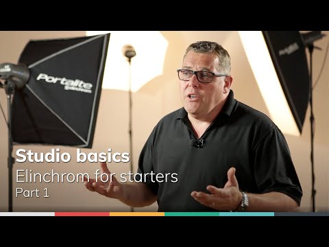 Studio Basics - Part1: Elinchrom for Starters