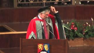 Ian Morris Honorary Graduand speech at the University of Birmingham