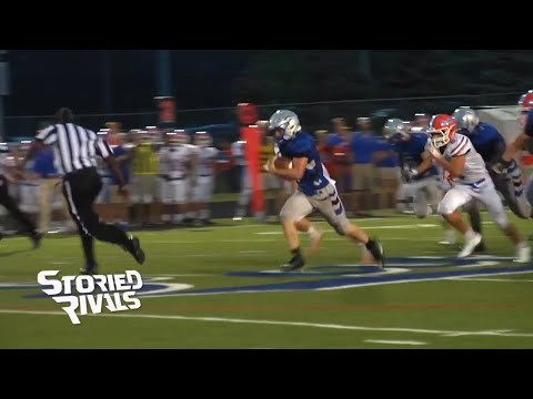High school footballer scores unusual TD