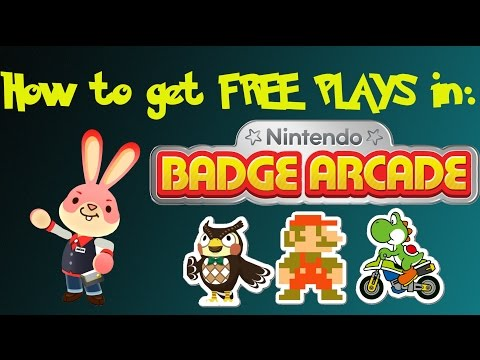 How to get FREE Plays in Nintendo Badge Arcade