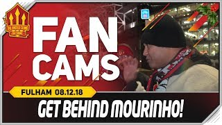POGBA & MOURINHO IN! Manchester United 4-1 Fulham Fancam