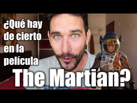 ¿Qué hay de cierto en la película The Martian?