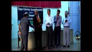 Part{4/18} Honoring Seniors At Thapar Alumni Day