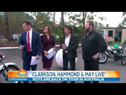Shane Jacobson and Dickie face off against Pete and Richard Hammond