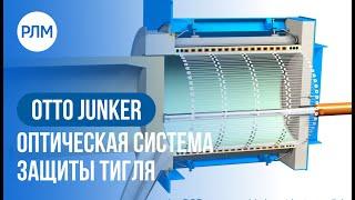 OTTO JUNKER Оптическая система защиты тигля