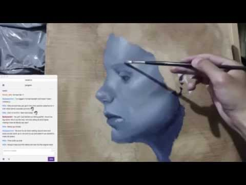 OIL PAINTING DEAD LAYER TWITCH STREAM #2