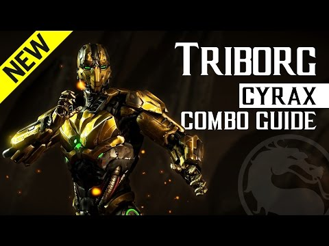 Mortal Kombat X: TRIBORG (Cyrax) Beginner Combo Guide