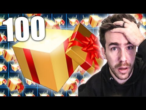 "OPENING 100 ""NEW"" ROCKET LEAGUE GOLDEN GIFTS!!! thumbnail"