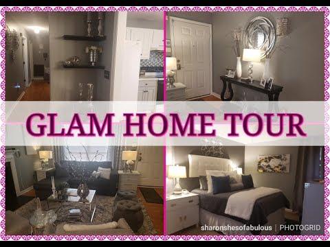 GLAM HOME TOUR FINALLY || TABATHAS HOME REVEAL