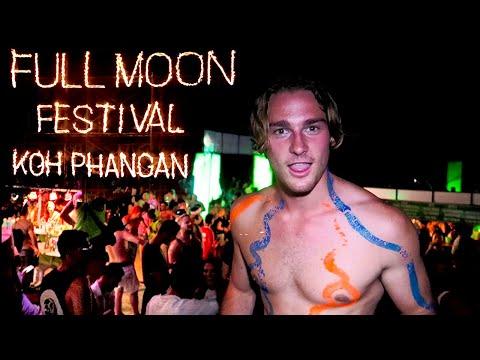 Reality Of The Full Moon Party Koh Phangan.