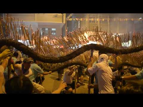 Tai Hang Fire Dragon dance 2017, Hongkong