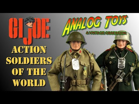 G.I. Joe - Action Soldiers of the World - Vintage Toy Review - Hasbro 1966 - Action Man