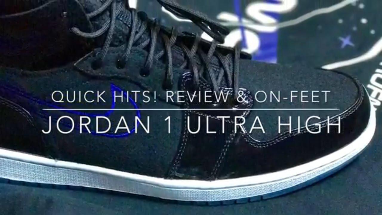 Quick Hits! Air Jordan 1 Ultra High Space Jam - YouTube fbb38dcc4