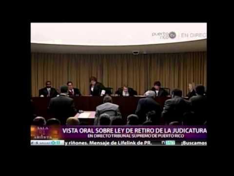 Vista oral del Tribunal Supremo de Puerto Rico