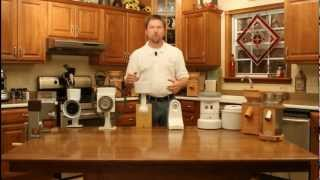 Grain Mill Reviews: Basic Overview of the Different Grain Mills (Video 1 in a Series)