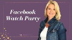 Facebook Watch Party - Anleitung und Ideen für die Anwendung als online Kursersteller!