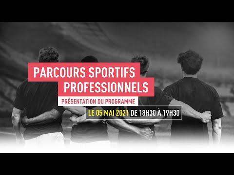 TBS EDUCATION - WEBINAIRE PARCOURS SPORTIFS PROFESSIONNELS - 05 / 05 / 2021