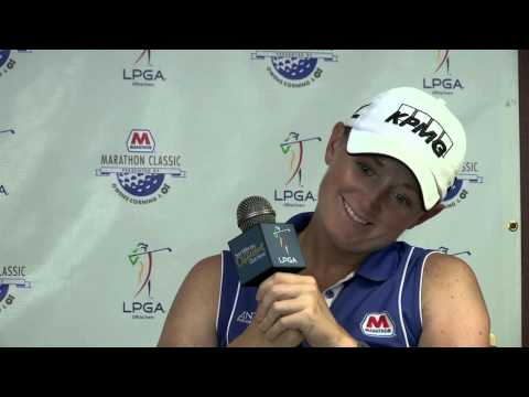 Stacy Lewis' Pre-Tournament Interview at the 2013 Marathon Classic Presented by O-I