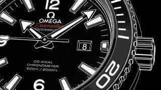 Omega Seamaster Планета Океан Калібр 8520/8521 - відео інструкція