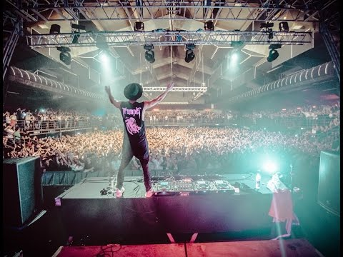 Timmy Trumpet live Rome 31/10/16,Atlantico,all the show.