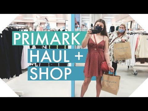 PRIMARK HAUL + Shop With Me - AUGUST 2020