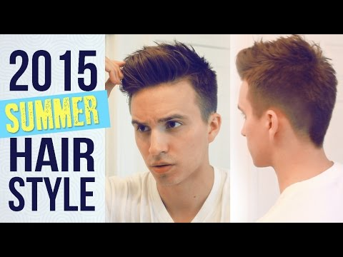 My Current Summer Hairstyle | Mens Haircut tutorial | Medium hairstyles + Hairbond