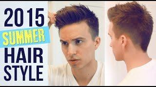My Current Summer Hairstyle | Mens Haircut tutorial | Medium hairstyles + Hairbond