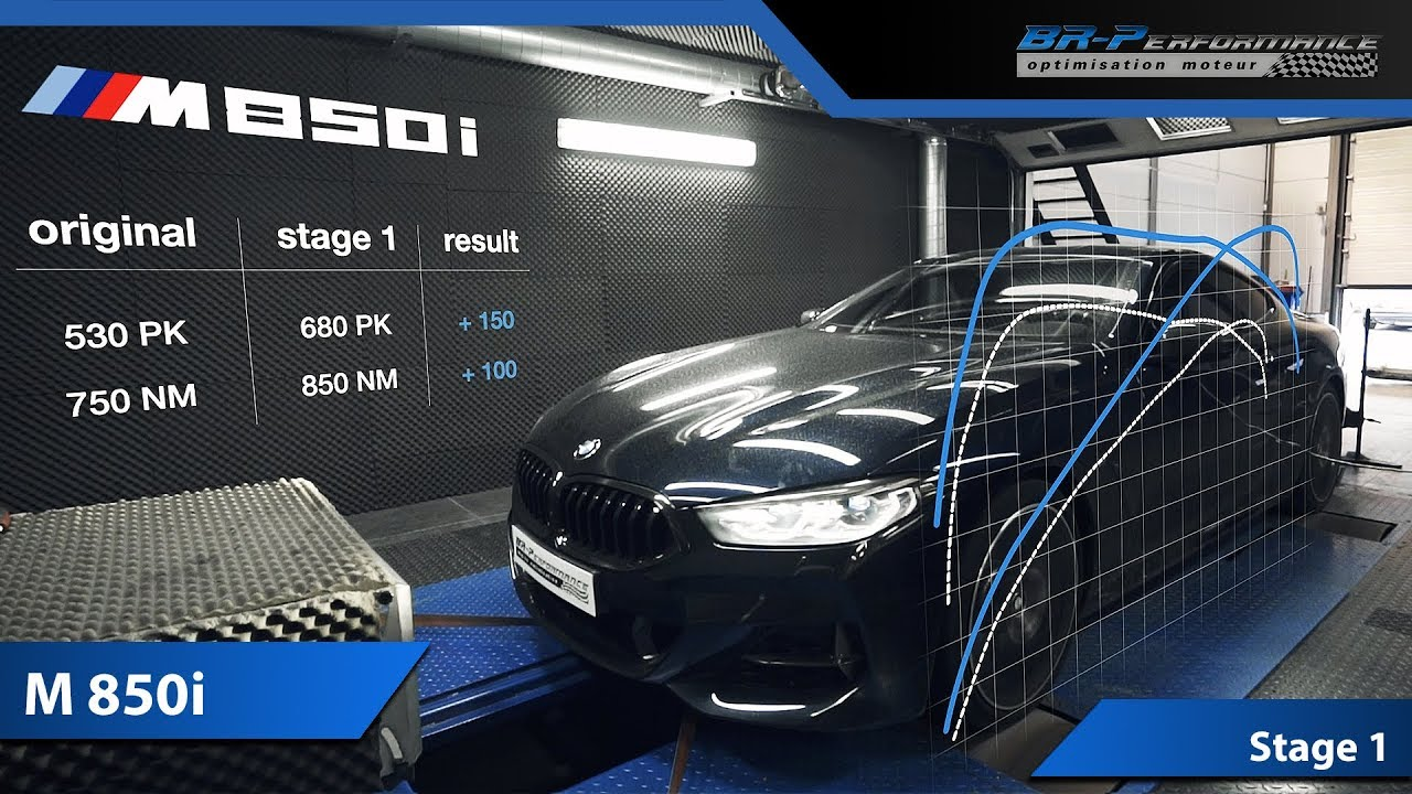 Bmw M850i Stage 1 By Br Performance Youtube