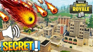 GROS SECRET ON Fortnite's METEORITE: Battle Royale!