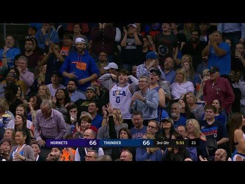 3rd Quarter, One Box Video: Oklahoma City Thunder vs. Charlotte Hornets